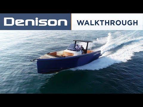 Fjord 36 Open Day Boat [Walkthrough]