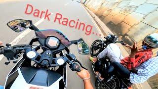 Thunderbird X 350 vs KTM RC 200 Dark Racing