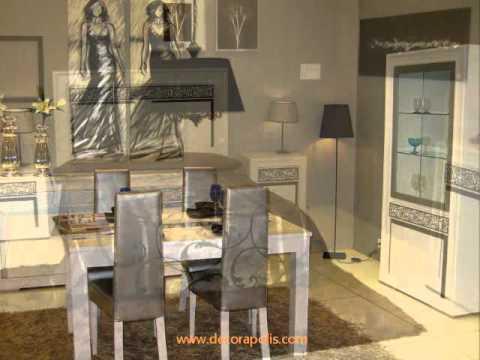 Mobiliario moderno r stico colonial y contempor neo for Mobiliario moderno