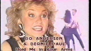 Bernie Paul & Gry (aka Bo Andersen) - Hold Me In Your Arms (PROMO) - ((STEREO)) HD