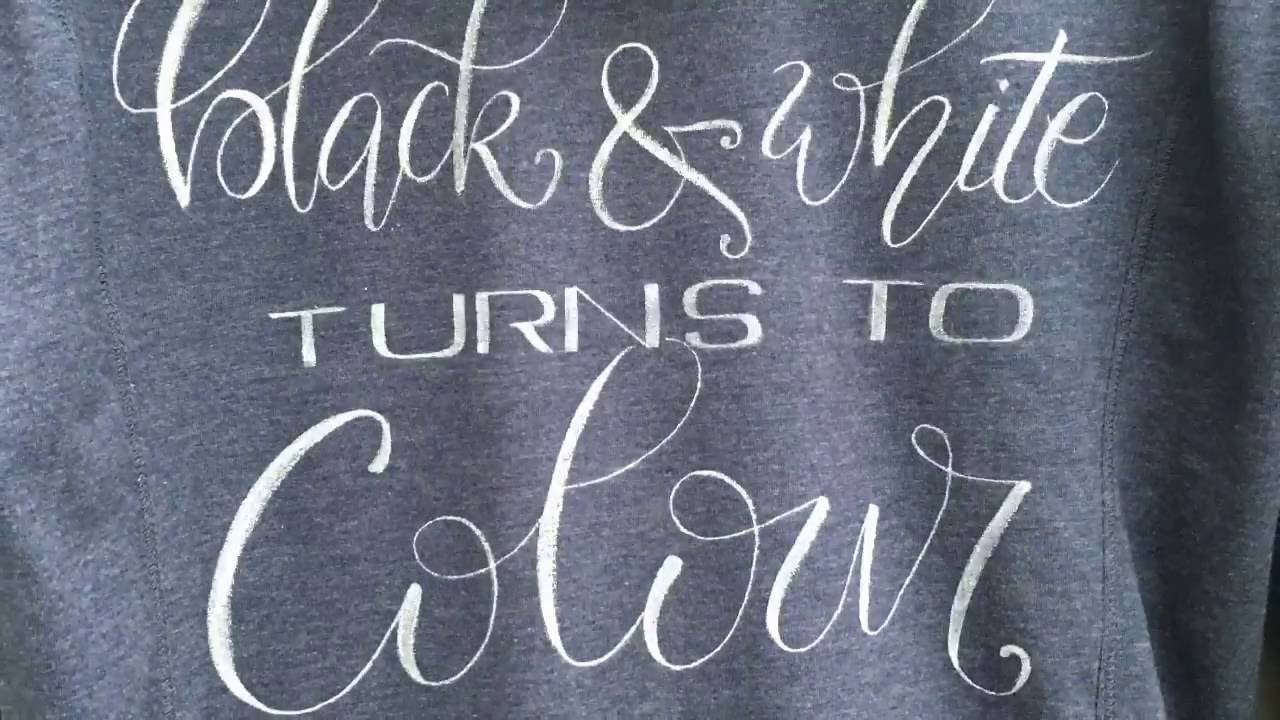 Schrijven Op Je Kleding Write On Your Clothing