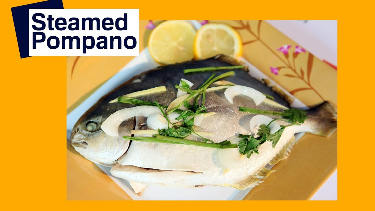Recipe steamed fish pompano pinoy how to youtube for Pompano fish recipes