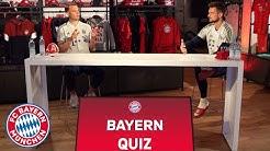 The big FC Bayern quiz with Manuel Neuer and Sven Ulreich