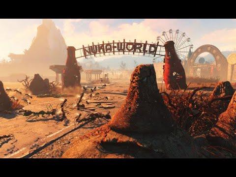 Fallout 4. Серия 353 - Зона для сотрудников Сухого ущелья