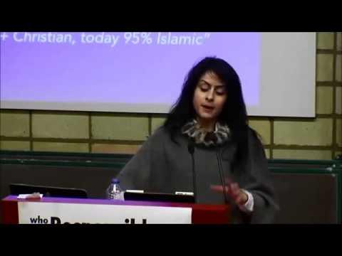 Christian Palestinian talks about oppression of Christian Palestinians by other Palestinians