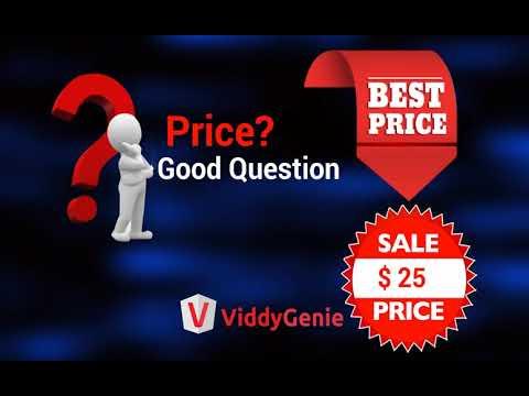 ViddyGenie Review-ViddyGenie Example Video. http://bit.ly/2UmCSh6