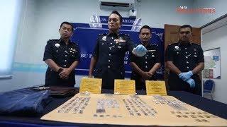 Johor police nab 3 men in two separate case following drug raids