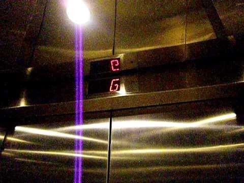 Roaring Kone Hydraulic Elevator @Mountain View Performing Arts Center CA
