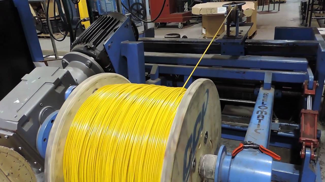 Lexco Cable - Extrusion Coating of Aircraft Cable & Wire Rope - YouTube
