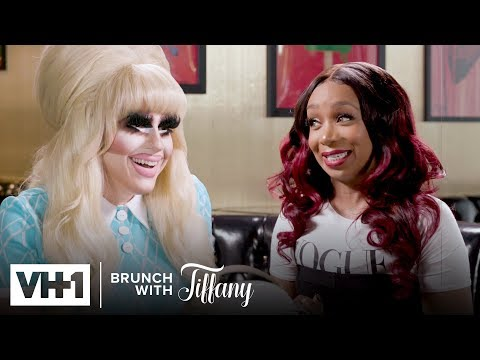Trixie Mattel On Lashes, Shangela & The Power Of Drag (S3 E3)   Brunch With Tiffany
