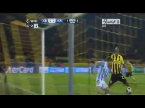 Narração Emocionante do 3° Gol do Borussia Dortmund sobre o Málaga!