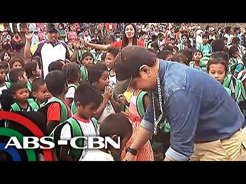 TV Patrol: Mga estudyante sa North Cotabato, inabutan ng tulong