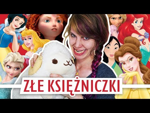 Księżniczki Disneya jako złoczyńcy 😈