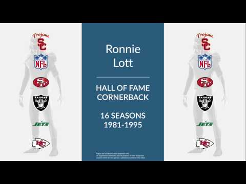 Ronnie Lott Hall of Fame Football Cornerback and Safety