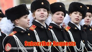 Russian Military Parade 🎵 MUSIC: My Moscow (English Subtitles) - Моя Москва - Anthem of Moscow