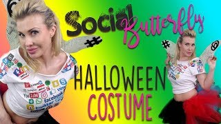DIY Social Butterfly | Clever Costume Idea