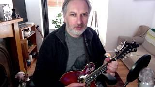 The Star Above The Garter (slide) on mandolin