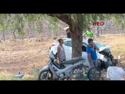 VIDEO Fuerte choque deja 4 muertos y 5 heridos en Villamar