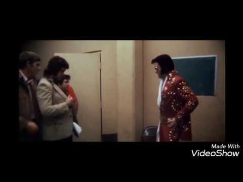 Elvis Presley Red Burning Love Jumpsuit Footage