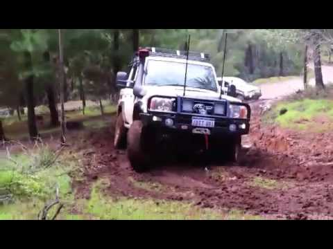 Toyota 76 series V8 Land Cruiser with a GTurbo, Turn it Up people