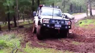 toyota 76 series v8 land cruiser with a gturbo turn it up people