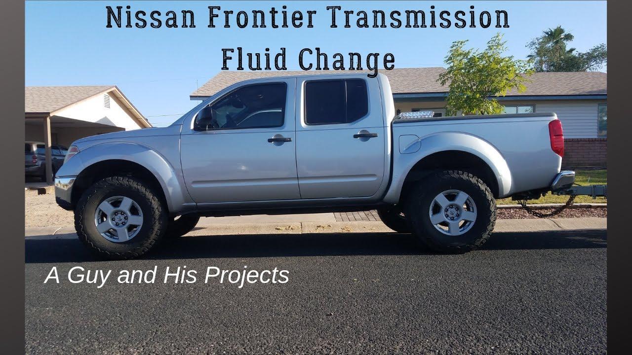 Nissan Frontier Transmission Fluid Change Youtube