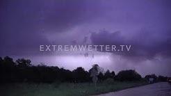 Unwetter bei Pforzheim - 06.08.2019 - EWTV ID 818