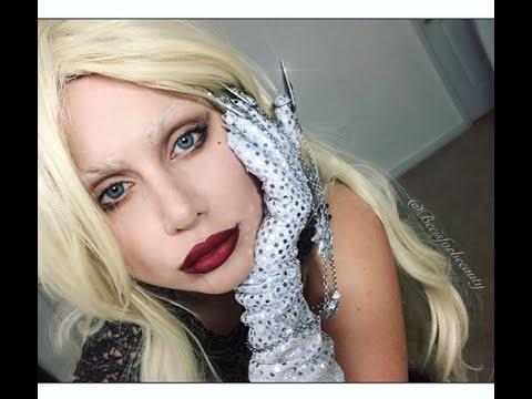 Lady Gaga American Horror Story   Makeup Tutorial