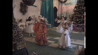 новогодний утренник танец снежинок