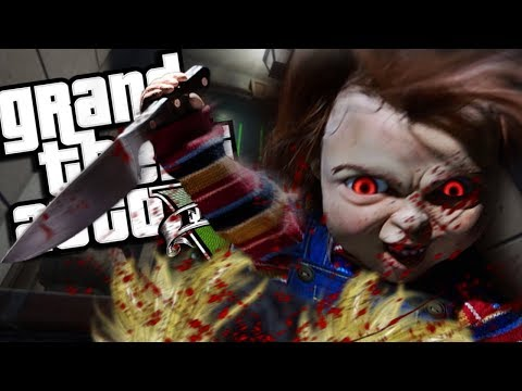 """The NEW Childs Play VS Childs Play """"Tiffany"""" MOD (GTA 5 PC Mods Gameplay)"""