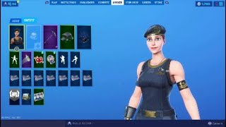 Brawler Skin Gameplay Fortnite