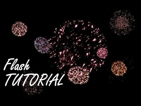 🎉 Animation Tutorial - Quick And Easy Fireworks In Flash