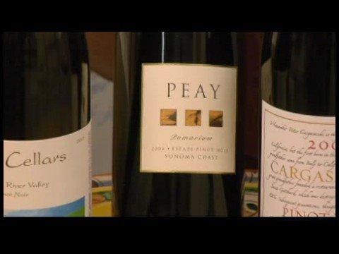 Pinot Noir Wine : California Pinot Noir