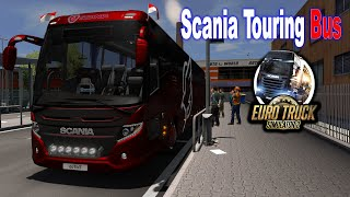 Download Scania Touring Bus Passenger Mod Euro Truck