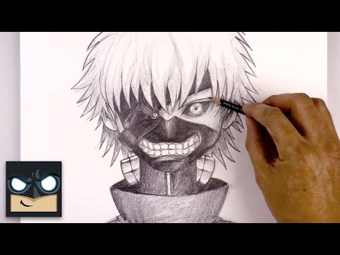 How to Draw Ken Kaneki | Sketch Tutorial thumbnail
