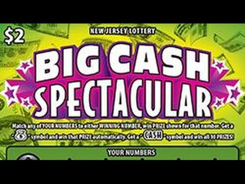 Big Cash Spectacular Instant Lottery Ticket Winner #1 ... - photo#32