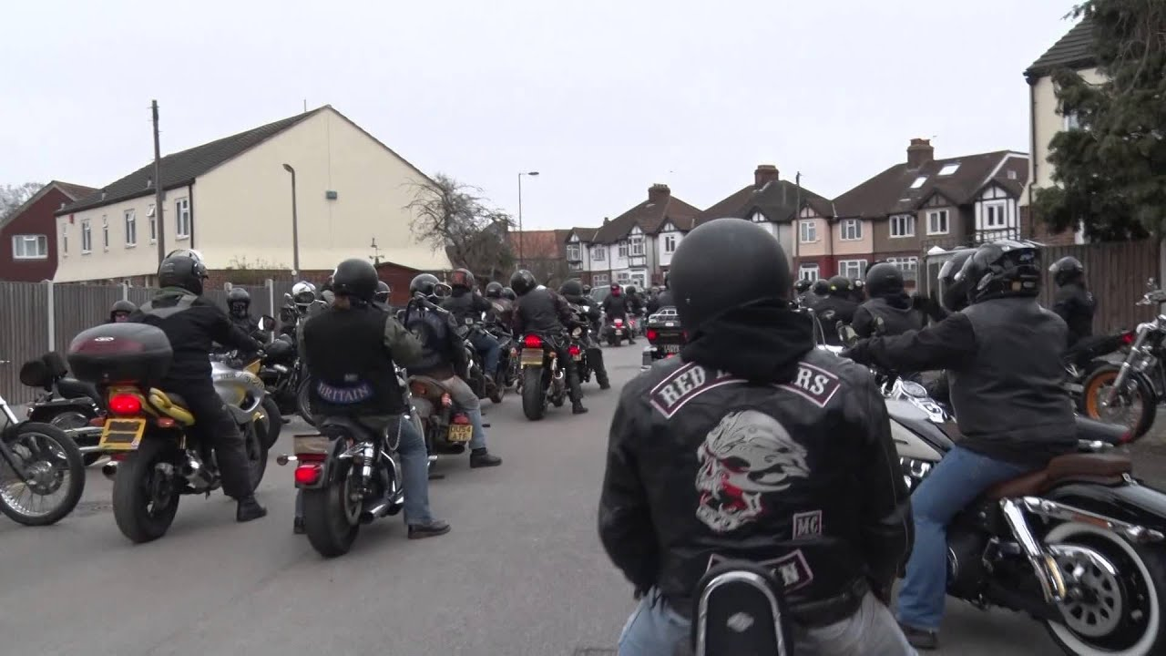 hells angels london memorial ride 21 03 2015