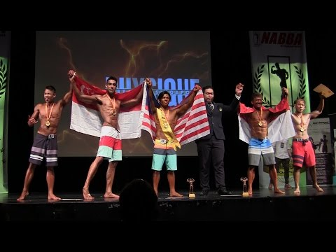 WFF Singapore Physique 2016 - Mr Physique (Senior)