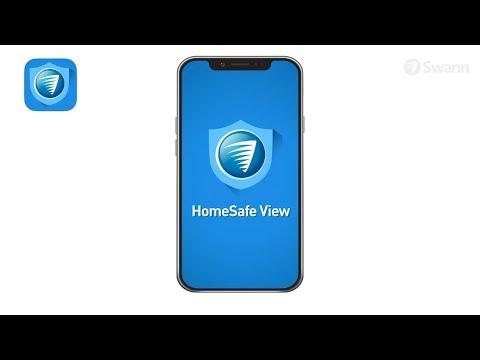 Swann HomeSafe View App for Mobiles - User Guide - YouTube