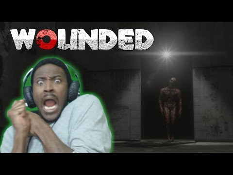 I'M QUITTING YOUTUBE 100% | Wounded Demo Indie Horror Game