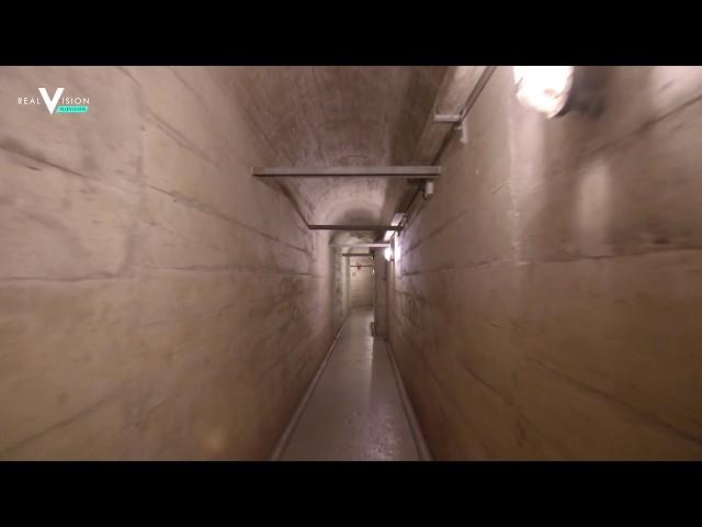 GOLDSWITZERLAND - EGON VON GREYERZ SHOWS THE BIGGEST PRIVATE GOLD VAULT IN THE WORLD