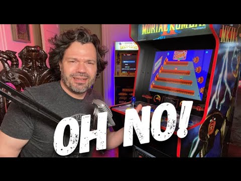 Big Problems! Arcade1up Legacy Edition Midway Classic Arcade 12 in 1 Review (2021) from Evryday Erik