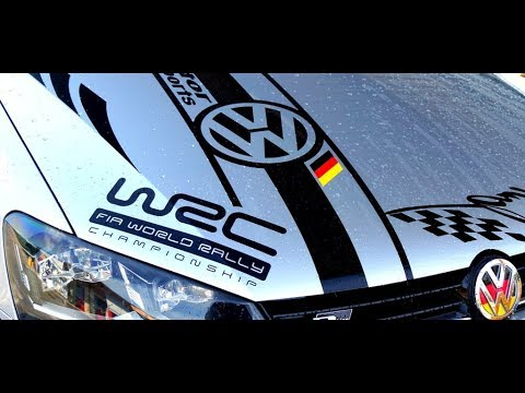 VW POLO STICKERS