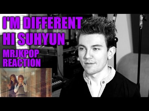 HI SUHYUN I'm Different Reaction / Review - MRJKPOP ( 나는 달라 Feat. Bobby )