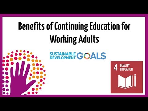 Benefits of Continuing Education for Working Adults