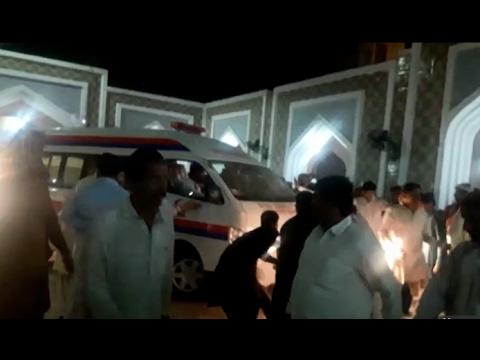 Explosion inside Lal Shahbaz Qalandar shrine in Sehwan; at least 50 dead