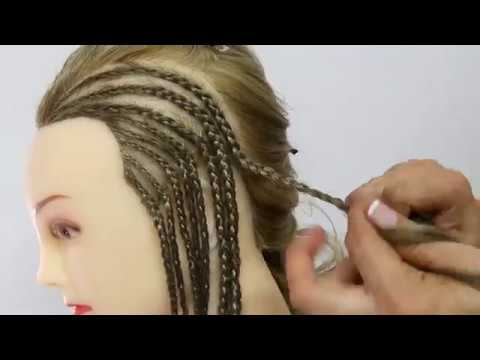 Como Hacer Trenzas Africanas   How to Cornrows   How to Braids - YouTube f0898851a54