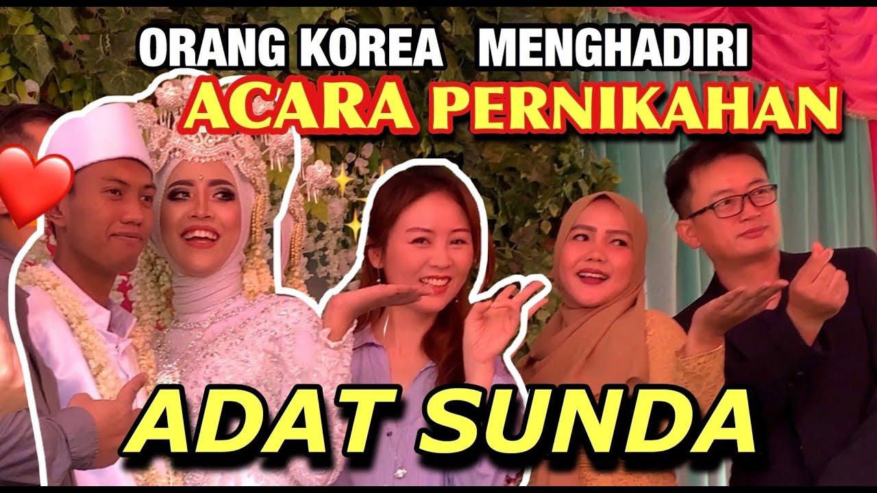 ORANG KOREA HADIR ACARA PERNIKAHAN INDONESIA 🇮🇩 | 인도네시아 결혼식 참석
