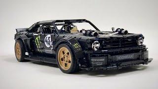 Ford Mustang Hoonicorn Lego MOC + Instructions