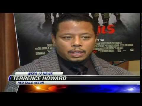 """Red Tails"" Movie Exclusive Intervew With Actors/Director .mpg"